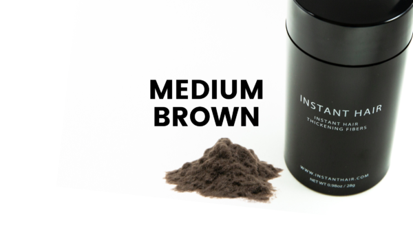 Medium Brown Instant Hair