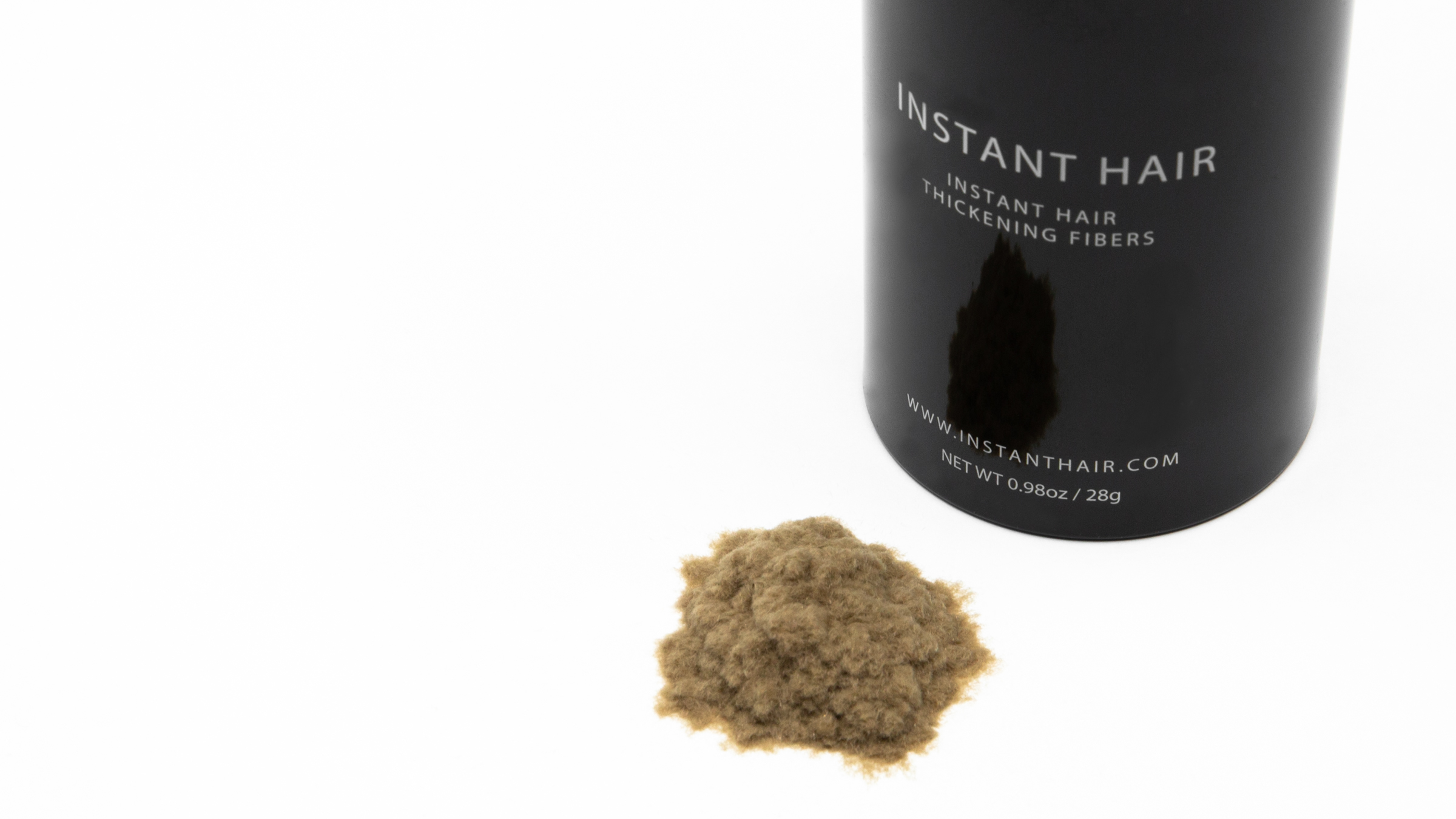 Instant Hair FAQ's - Bottle with Fibres